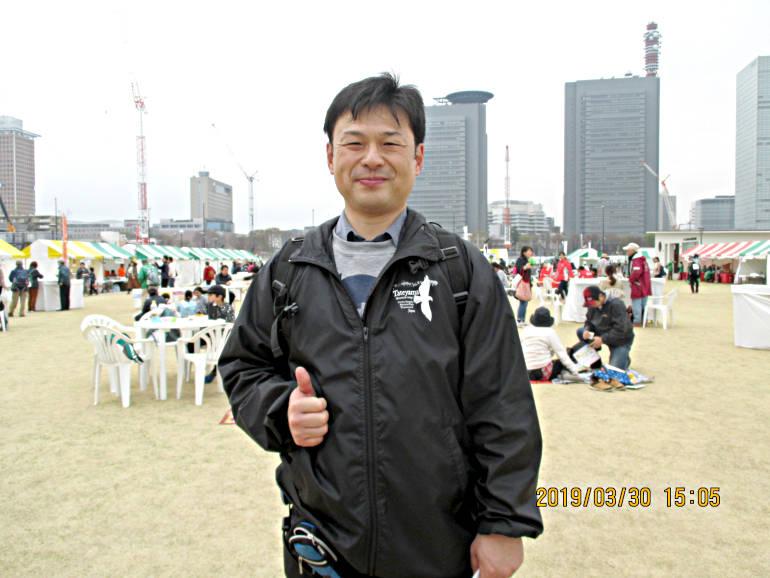 ⑰中央会場に15時ゴール、20km完歩達成!